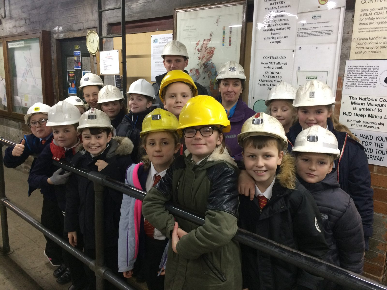 Year 6 National Coal Mining Museum trip 2017